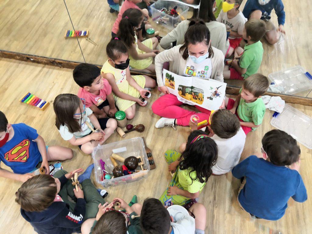 taller musical niños y niñas